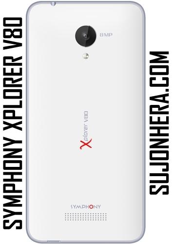 Symphony Xplorer V80 Full Phone Specifications & Price