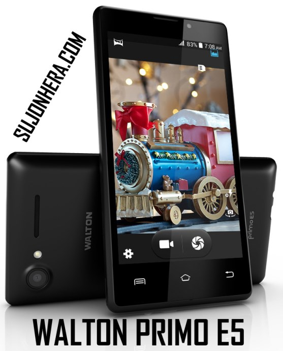 Walton Primo E5 Android Phone Full Specifications & Price