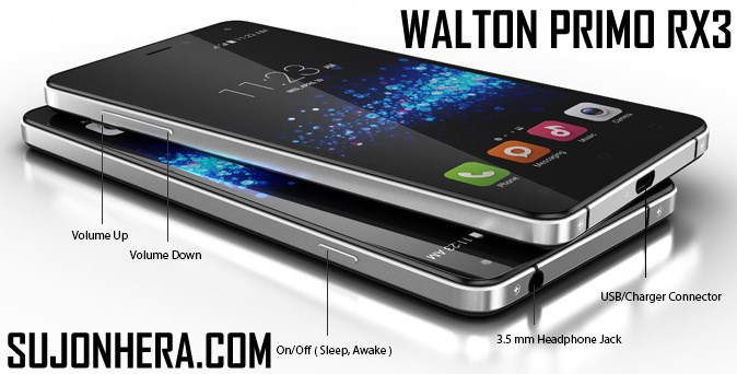 Walton Primo RX3 Android Phone Full Specifications & Price