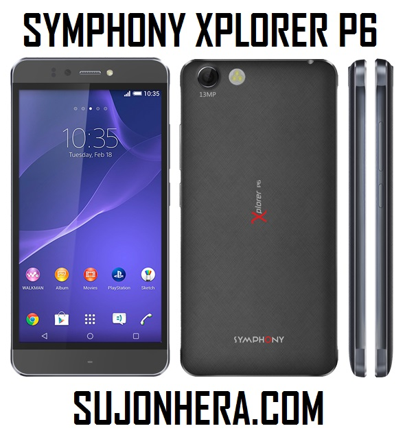 Symphony Xplorer P6 Full Phone Specifications & Price