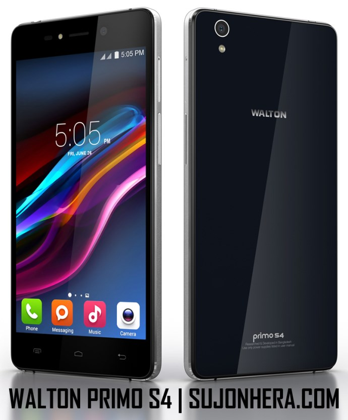 Walton Primo S4 Android Phone Full Specifications & Price
