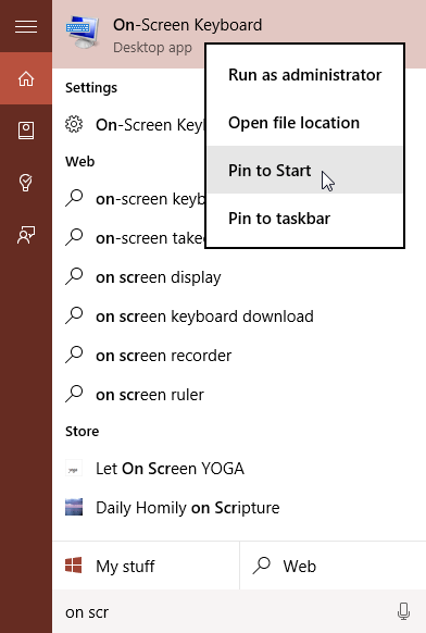How To Open On-Screen Keyboard In Windows 10 Computer