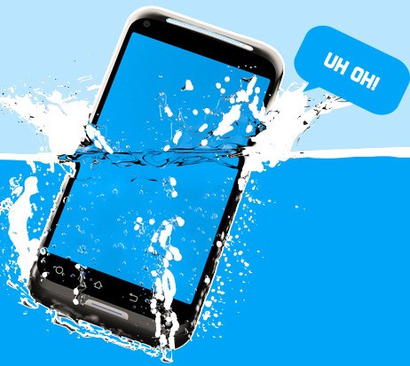 Save Or Rescue A Wet Mobile Phone Easily