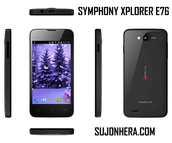 Symphony Xplorer E75 Full Phone Specifications & Price