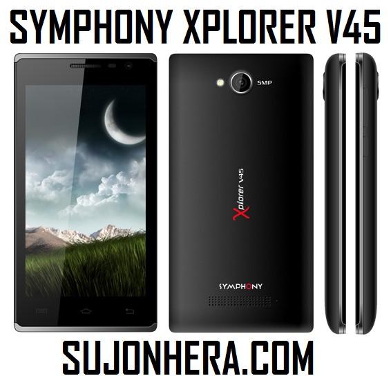 Symphony Xplorer V45 Full Phone Specifications & Price
