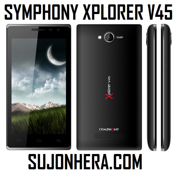 Symphony Xplorer V45 Full Phone Specifications & Price