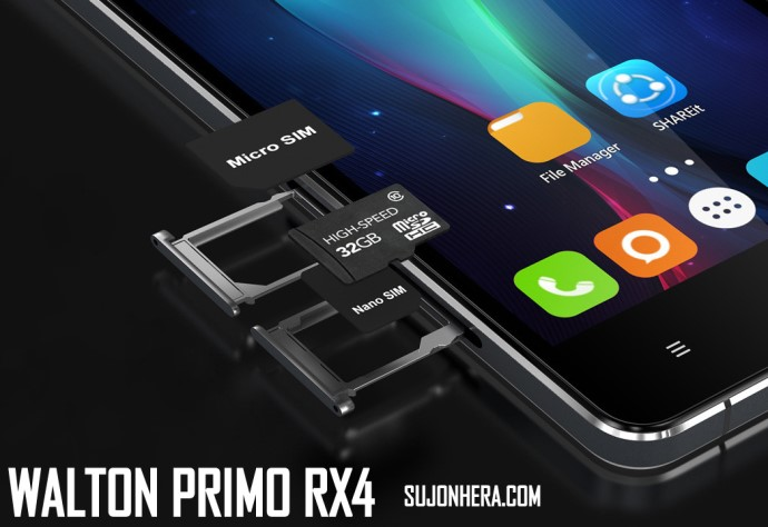 Walton Primo RX4 Android Phone Full Specifications & Price