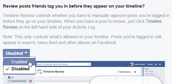 Prevent Facebook Friends From Tagging You In Their Posts