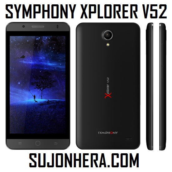 Symphony Xplorer V52 Full Phone Specifications & Price