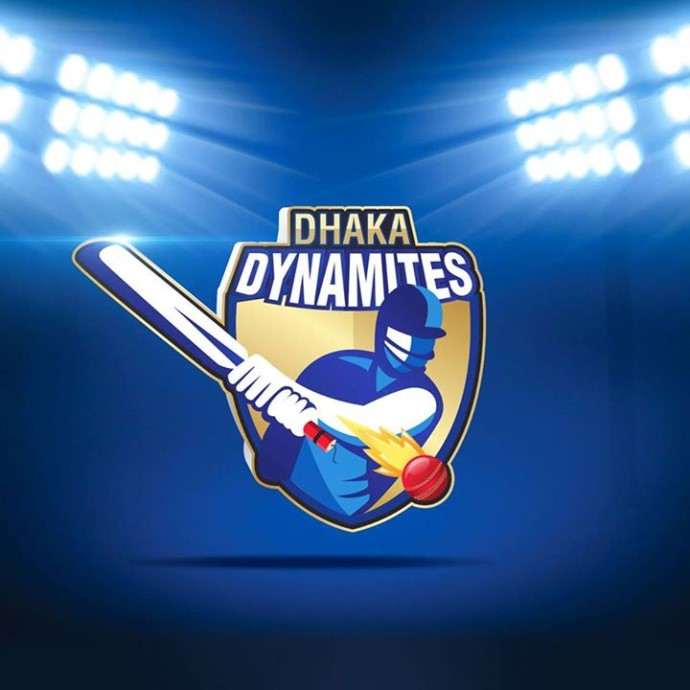 DHAKA DYNAMITES LOGO FOR BPL T20 2017