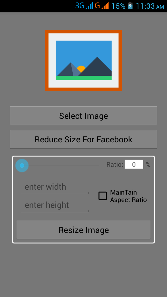 Quick Image Resizer Resize Images From Android Phone