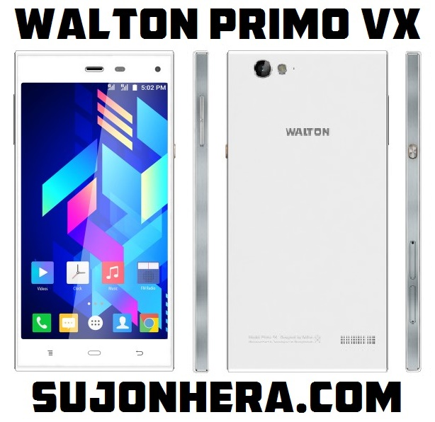 Walton Primo VX Android Phone Full Specifications & Price