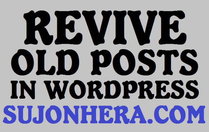 10 Ways To Promote Old Posts Of WordPress Websites