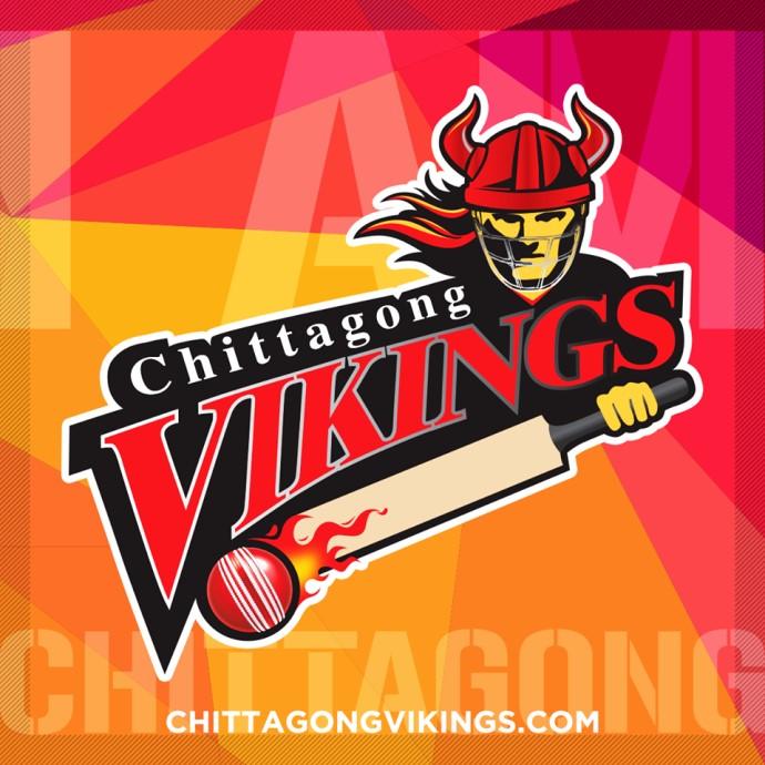 Chittagong Vikings Logo for BPL T20 2015