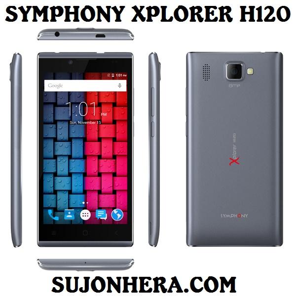Symphony Xplorer H120 Full Phone Specifications & Price