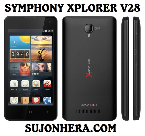 Symphony Xplorer V28 Full Phone Specifications & Price