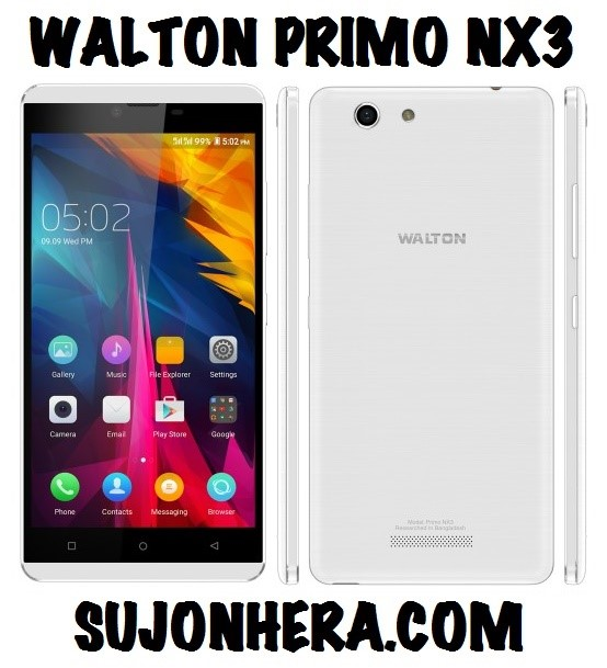 Walton Primo NX3 Android Phone Full Specifications & Price