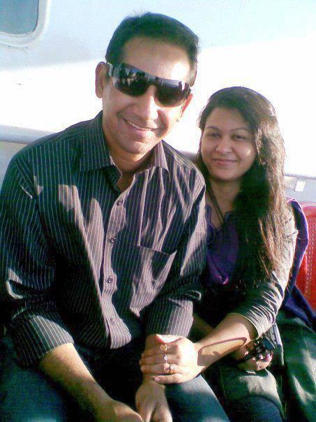 Habibul Bashar Bangladeshi Cricketer with his wife