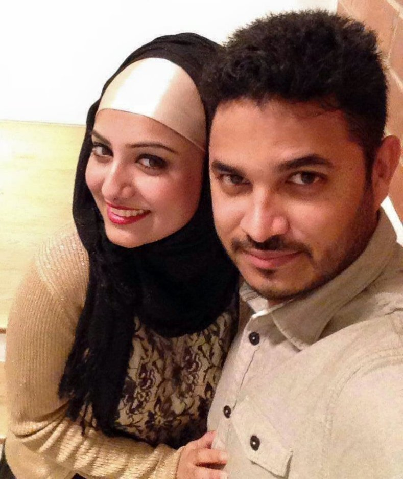 Tareq Aziz Bangladeshi Cricketer with his wife