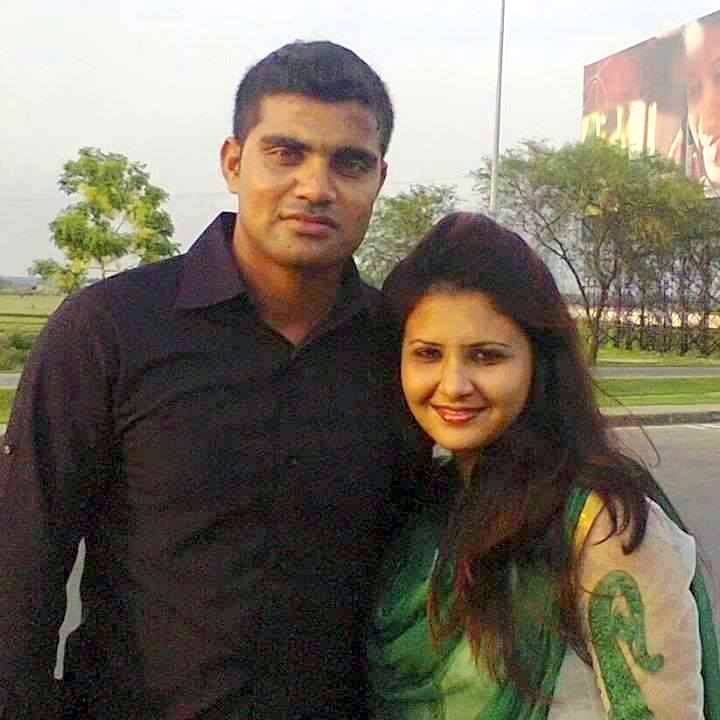 Ziaur Rahman Bangladeshi Cricketer with his wife