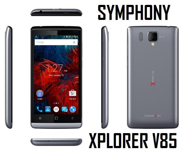 Symphony Xplorer V85 Full Phone Specifications & Price