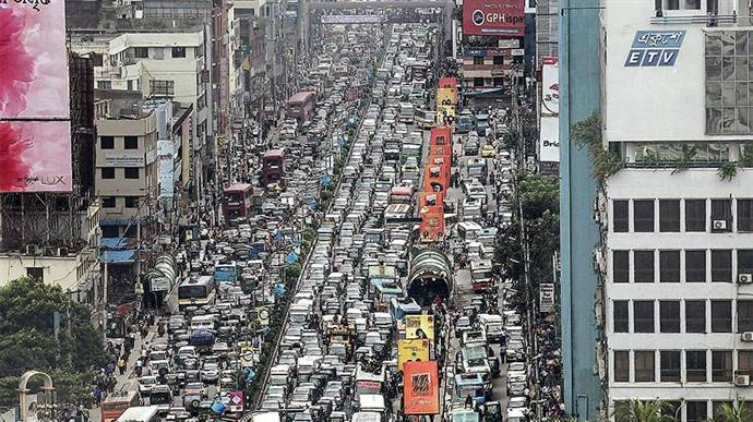 How To Reduce Traffic Jam In Dhaka City In Bangladesh