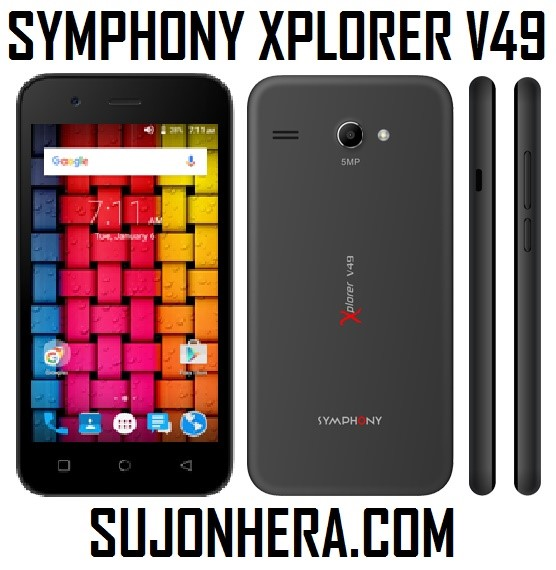 Symphony Xplorer V49 Full Phone Specifications & Price