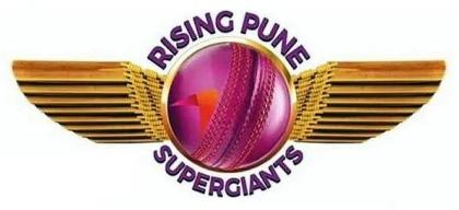 IPL T20 2016 RISING PUNE SUPERGIANTS RPS LOGO