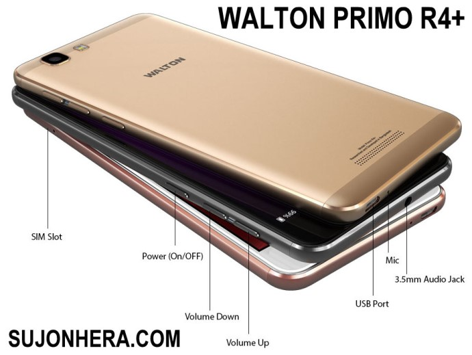 Walton Primo R4+ Android Phone Full Specifications & Price