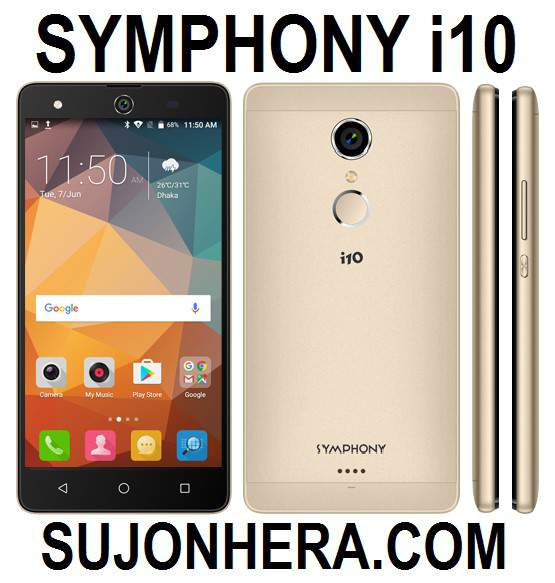 Symphony i10 Full Android Phone Specifications & Price