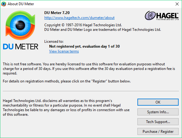 DU Meter Latest Full Version For Free Download [Registry Trick]