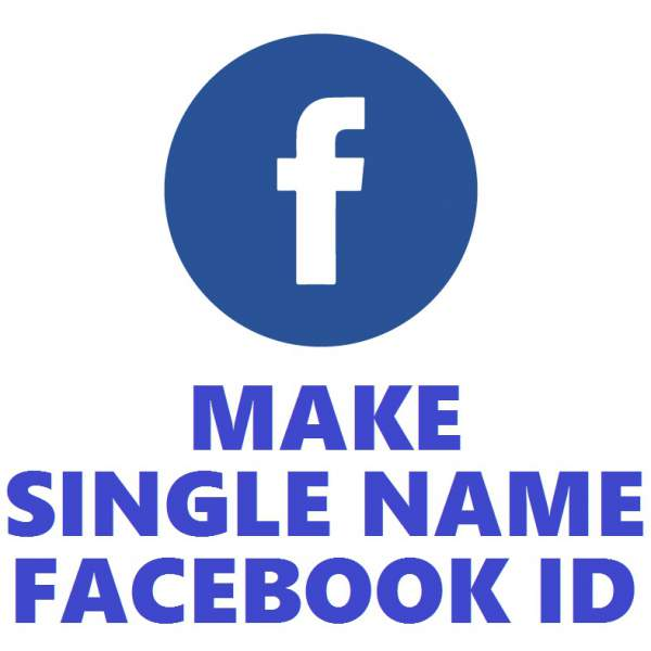 How To Make Facebook name Single Or One Word