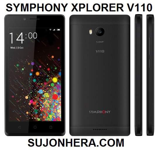 Symphony Xplorer V110 Full Phone Specifications & Price