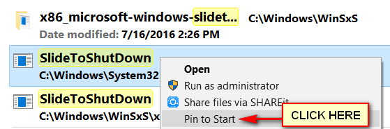 How To Shut Down Windows 10 Computer By Mouse Cursor Slide