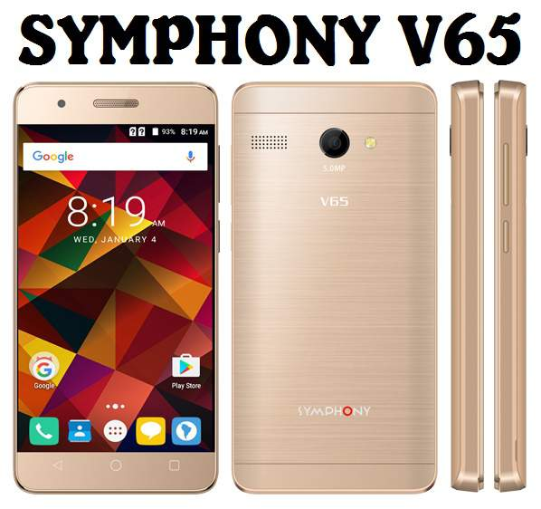 Symphony V65 Android Phone Full Specifications & Price