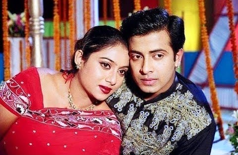 Shabnur and Shakib Khan Couple Photo Image Picture