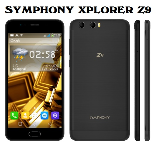Symphony Xplorer Z9 Full Phone Specifications & Price