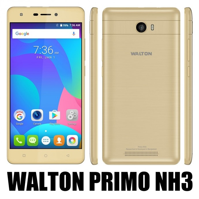 Walton Primo NH3 Android Phone Full Specifications & Price