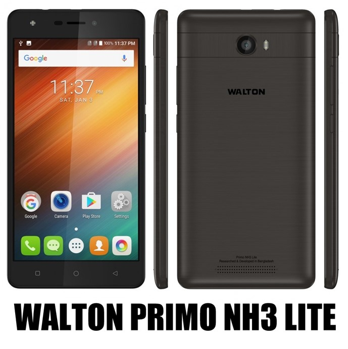 Walton Primo NH3 Lite Android Phone Full Specifications & Price