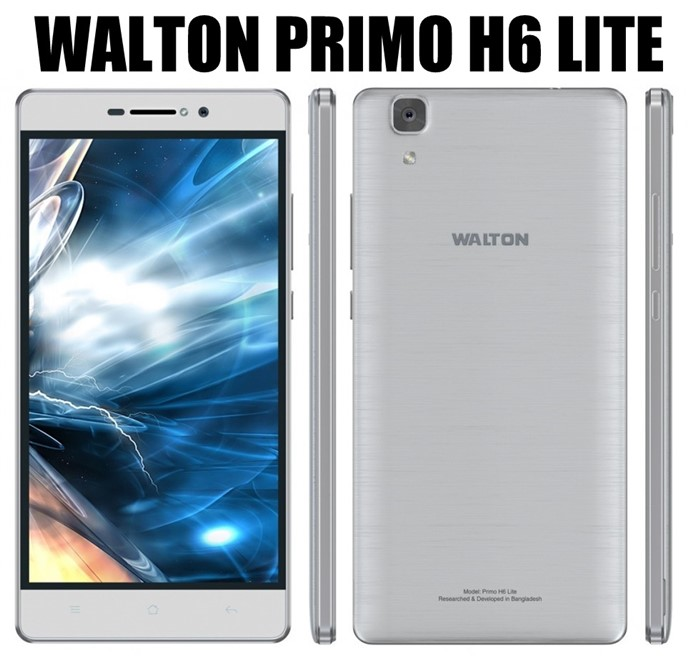 Walton Primo H6 Lite Android Phone Full Specifications & Price