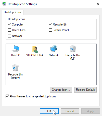 How To Bring My Computer Icon In Windows 10 Desktop Screen