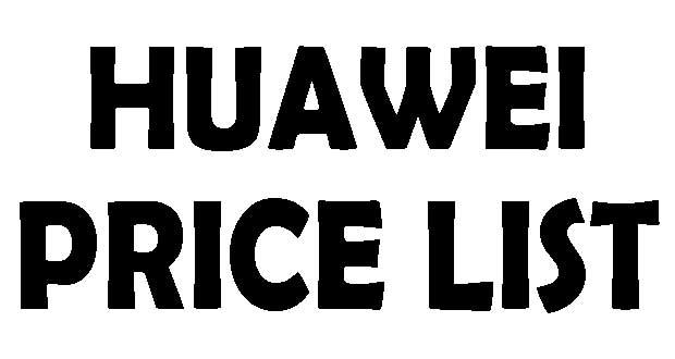 Huawei Mobile Handset Updated Price List In Bangladesh