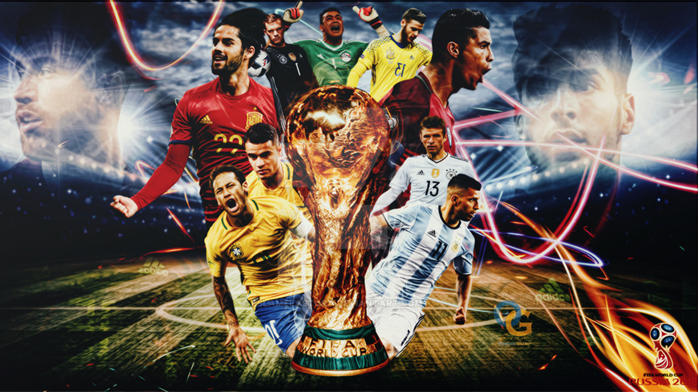 Fifa World Cup 2018 Wallpaper: FIFA World Cup 2018: Top 10 HD Wallpapers