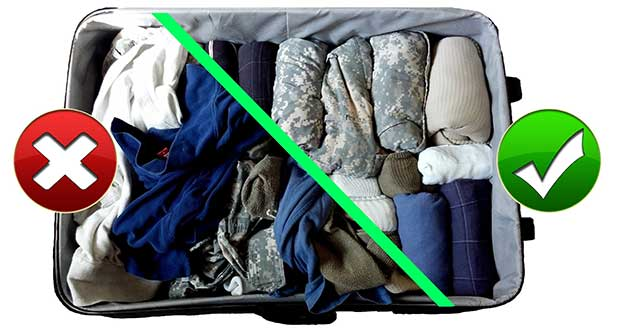 10 Tips To Pack A Travel Bag Suitcase Luggage Efficiently